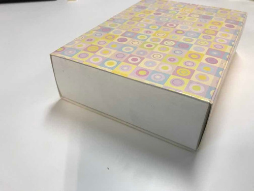 caixa 6 doces brigadeiros trufas 8 x 12 x 3,5 cm int.