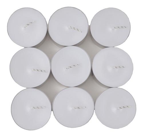 caixa 72 unidades vela branca para rechaud sem aroma atacado