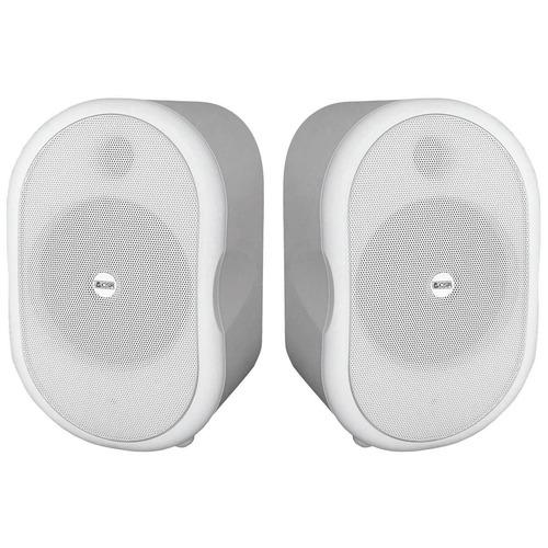 caixa acustica 30w branca c/ suporte (par) csr 30 tw -csr