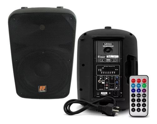 caixa acustica amplificada staner 10 titânio 110w sr-110a