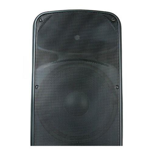 caixa acustica ativa 15 sr615a 600w rms duplo alto falante