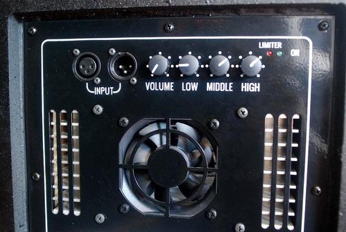 caixa acústica ativa line fal jbl 1000w 2x 10' + ti neodímio