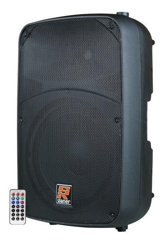 caixa acústica ativa staner sr-315a 15 300w bt frete aéreo