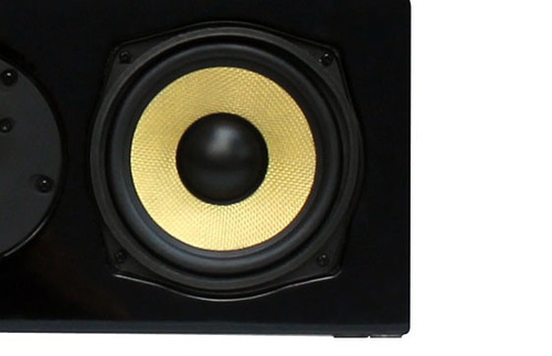 caixa acústica central aat c-140 - 140w - preto laqueado -