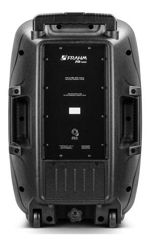 caixa acústica frahm plástica pw 400 kit a+p cód 31605