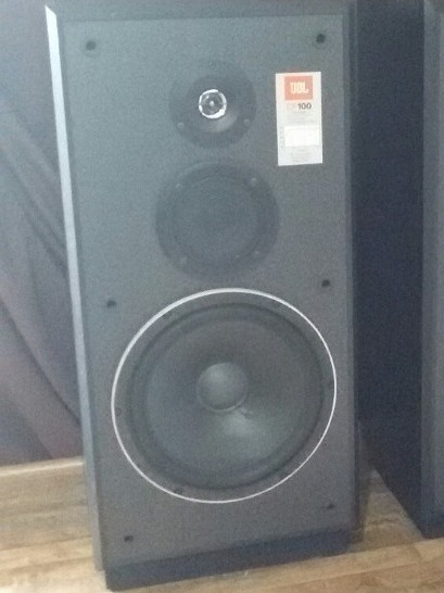 Caixa Acústica Jbl Cf-100 Raras - Gradiente Technics