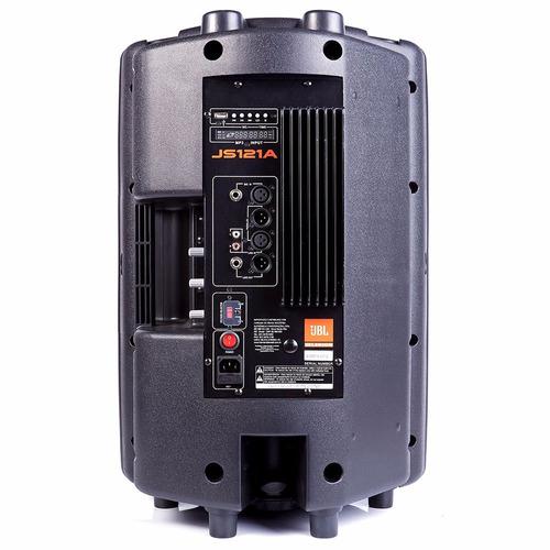 caixa acústica jbl selenium js121a 12'' 150w com usb ativa