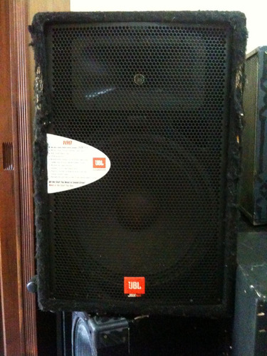 caixa acústica  jbl  (som profissional) jrx 100