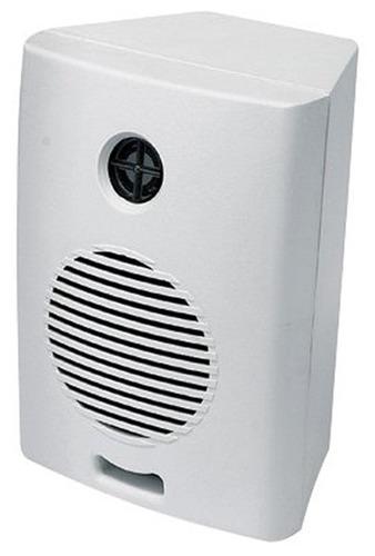 caixa acústica para som ambiente de 35w rms preta ou branca