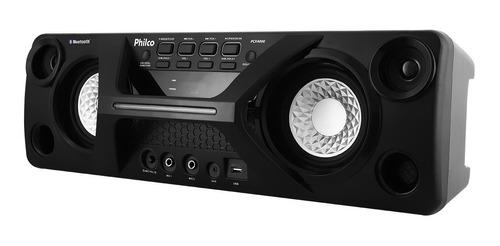 caixa acústica philco pcx4000 com conexão bluetooth bivolt