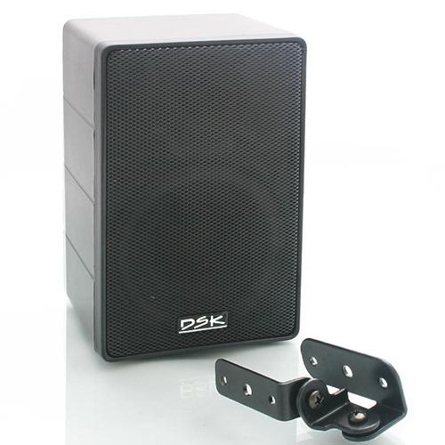 caixa acústica som ambiente casa sala loja