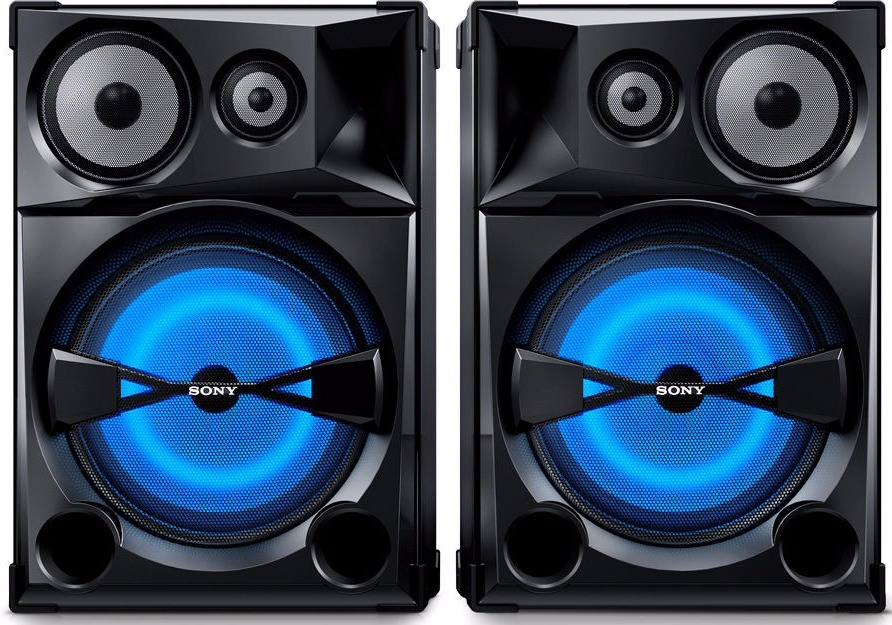 Caixa Acustica Som Sony Shake 7 Par 15 Polegadas Shake7