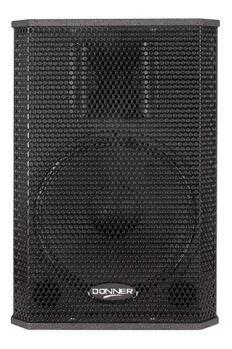 caixa acústica/retorno ativo donner saga 12p pt 250w