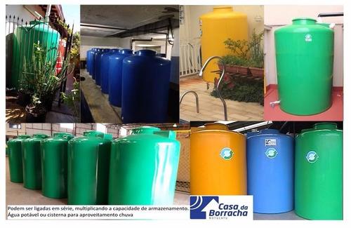 caixa agua 2000 litros tambor reservatorio tanque sem bomba