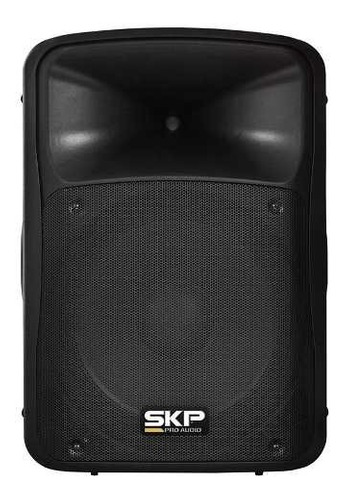 caixa amplificada ativa skp sk4p 15'' bluetooth usb c/ nfe