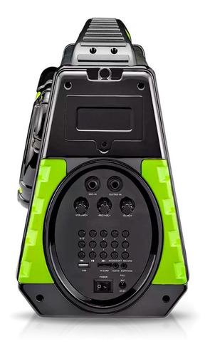 caixa amplificada bluetooth 120w rms multilaser sp280 p2 p10