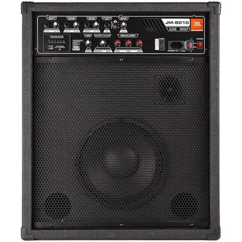 caixa amplificada jbl selenium jm 8010 multiuso 160w oferta