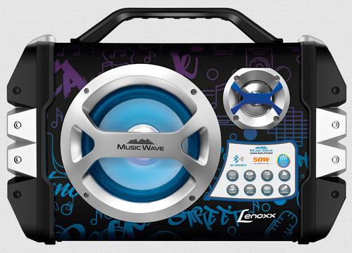 caixa amplificada lenoxx music wave ca 323 bivolt