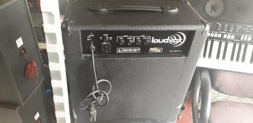 caixa amplificada loudvox lm-100 funcionando perfeita