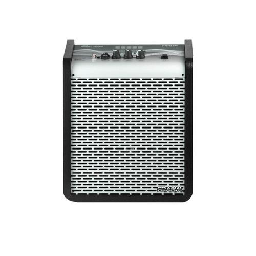 caixa amplificada multi-uso silver 100w 6 polegadas frahm