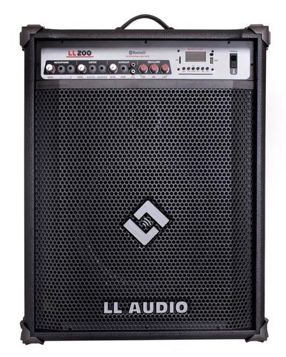caixa amplificada multiuso ll 200 bt - 50 watts