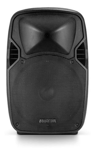 caixa amplificada multiuso pw600 600w bluetooth usb frahm