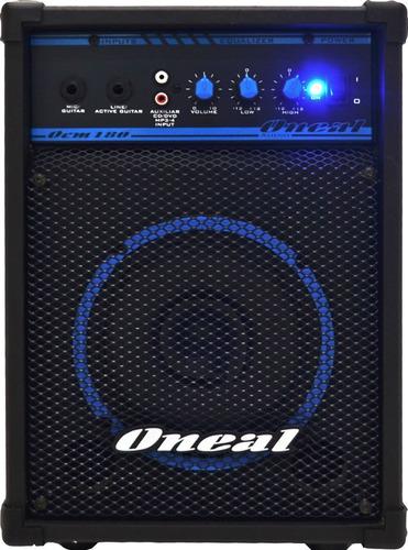 caixa amplificada ocm 180 multiuso 60w - oneal