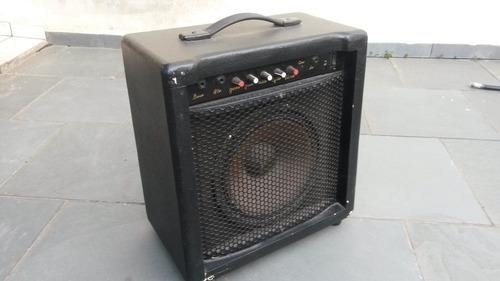 caixa amplificada para guitarra, 150w real, 10 pol.
