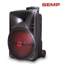 Caixa Amplificada Semp, 200w, Bluetooth®, Usb, Portátil, Led