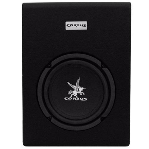 caixa amplificada slim 8 polegadas 350 watts rms corzus