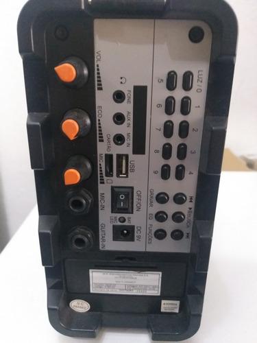 caixa amplificada thunder ii  bivolt mondial 12x- reembalado