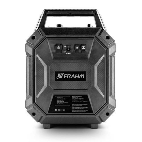 caixa amplificada usb/bluetooth 200w 5,25 polegadas frahm
