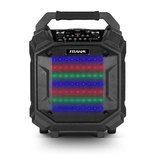 caixa amplificada usb/bluetooth 250w 6,25 polegadas frahm