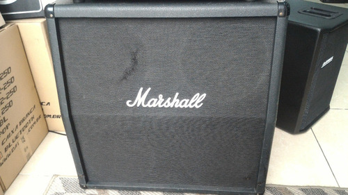 caixa angulada marshall mc412a inglesa 200watts usada