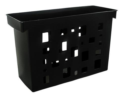 caixa arquivo dellocolor preto