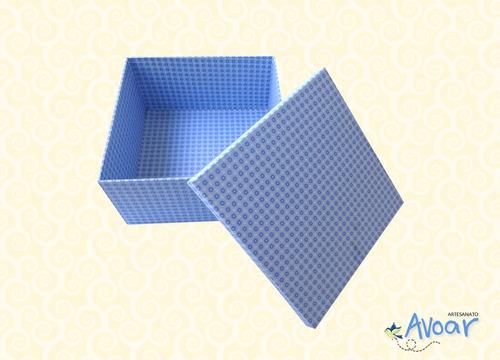 caixa artesanato - caixa decorada - caixa mdf - cód.14