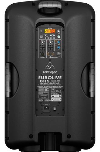 caixa ativa 15 pol 1000w c/ usb - b115 mp3 behringer 110v