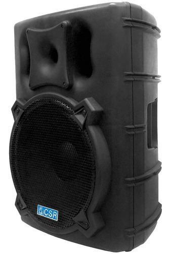 caixa ativa 15 pol 300w c/ usb/bluetooth - csr 4000 a usb bt