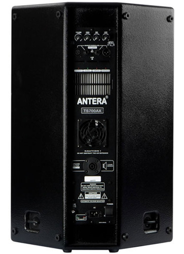 caixa ativa 15 pol 350w pa/monitor/fly ts 700 ax antera