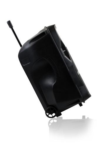 caixa ativa amplificada frahm cm 600 12 600w bateria microfo