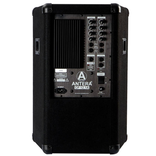 caixa ativa antera cp12.1a preta fal 12 pol 170w