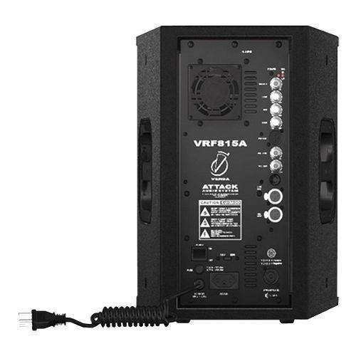 caixa ativa attack polegadas vrf 815 a 150w - attack