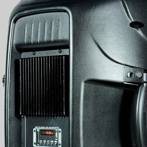 caixa ativa bluetooth staner ps-1501 200w oferta!