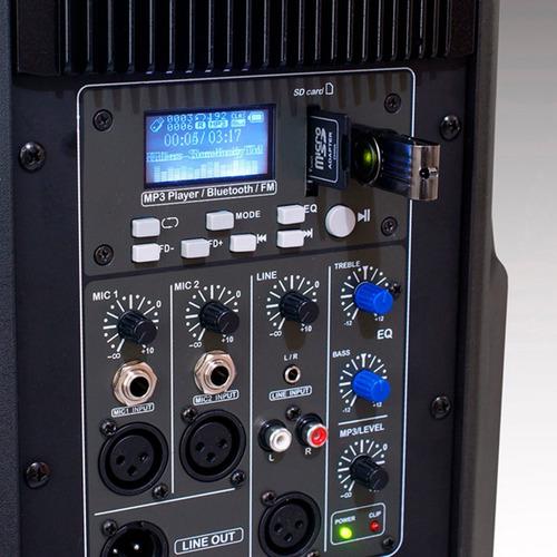 caixa ativa bluetooth staner sr-212a 200w oferta!
