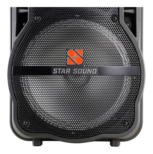 caixa ativa bluetooth star sound ss100 by staner oferta!