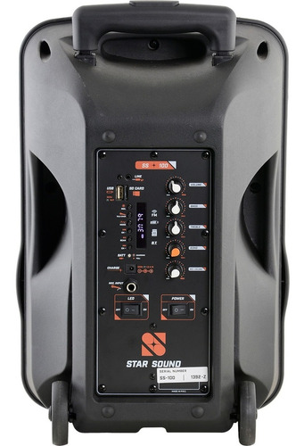 caixa ativa bluetooth star sound ss100 by staner promoção!