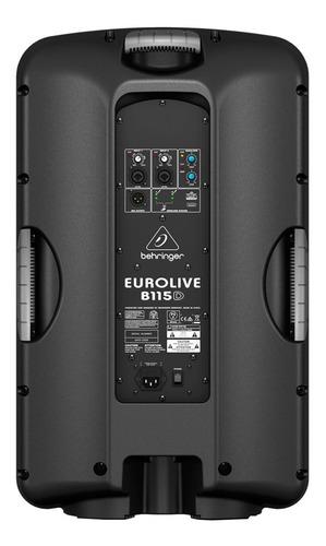 caixa ativa fal 15 pol 1000w - eurolive b115d behringer 110v