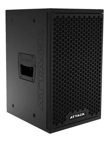 caixa ativa falante 8 polegadas f 108 d 980w - attack