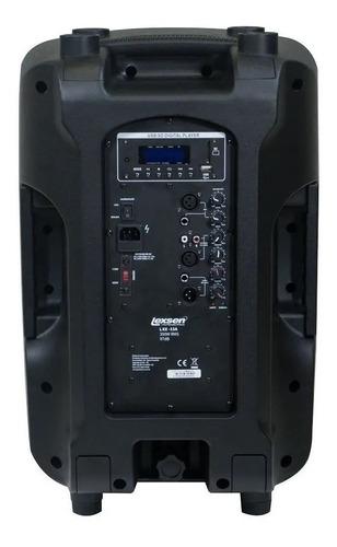 caixa ativa lexsen llx12 350w rms  sem fio - tipo staner jbl