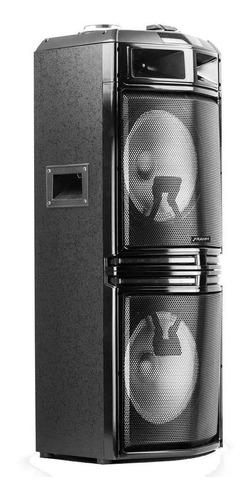 caixa ativa plastica tf800 frahm 800 rms